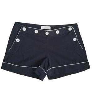 JOE FRESH Shorts Black Low Rise Navy Style